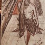 """""""Die dunklen Geheimnisse meines Verstandes"""" (Zeichnung, Format 46x68cm"""
