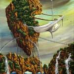 """""""Futurist Ark""""  30x50cm"""