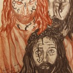 """""""Die Magie des Lebens"""" (Zeichnungsstudie, Format 46x68cm"""