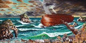 """""""Przymierze z Bogiem - Arka Noego"""" 100x200cm"""